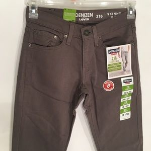 Levi's Denizen Menswear Skinny Fit 28x30 New
